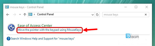 How to Control Mouse Pointer with Keyboard in Windows 10