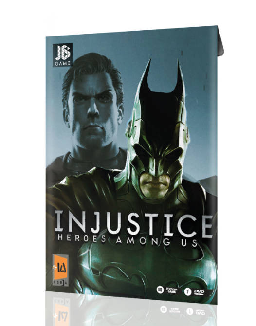 Injustice heroes moung us